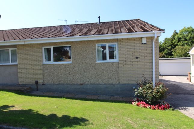 Thumbnail Semi-detached bungalow for sale in Leigh Court, Plymouth