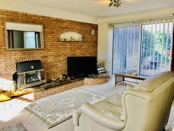 Living Room of Springdale, Hawarden, Deeside, Flintshire CH5