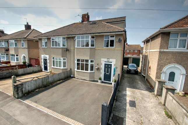 4 bed semi-detached house for sale in Birchwood Avenue, Weston-Super-Mare BS23