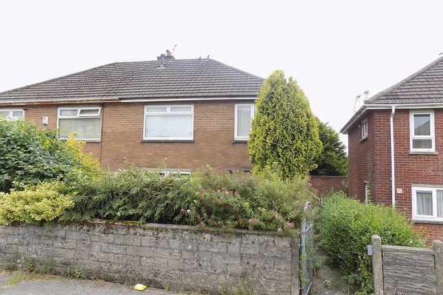 Thumbnail Semi-detached house for sale in Pen-Y-Mynydd, Bettws, Bridgend.