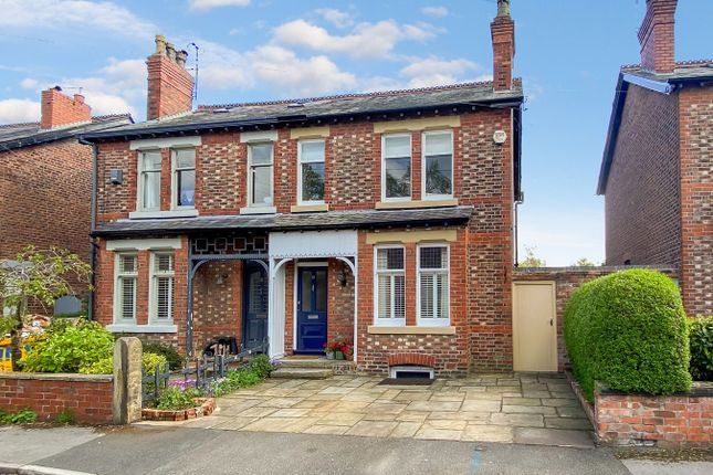 Thumbnail Semi-detached house for sale in Princess Road, Wilmslow