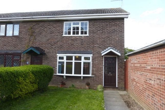 Thumbnail End terrace house to rent in The Laurels, Hopton, Great Yarmouth
