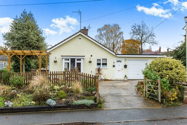 Thumbnail Detached bungalow for sale in Broad Road, Wickham Market, Woodbridge
