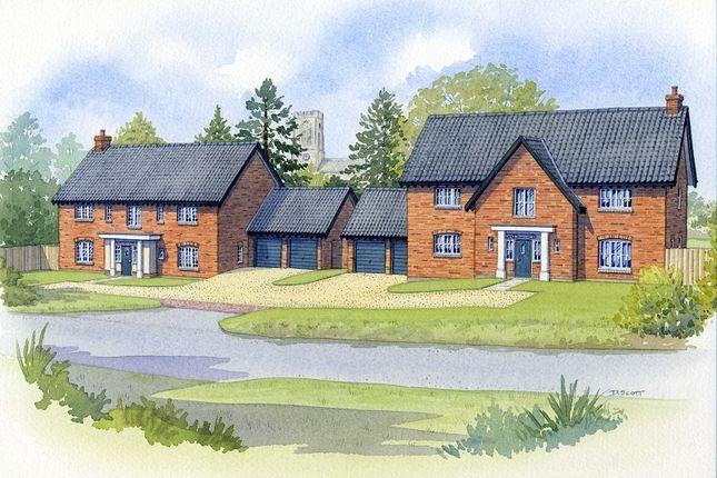 Thumbnail Detached house for sale in Elsing Road, Swanton Morley, Dereham, Norfolk.
