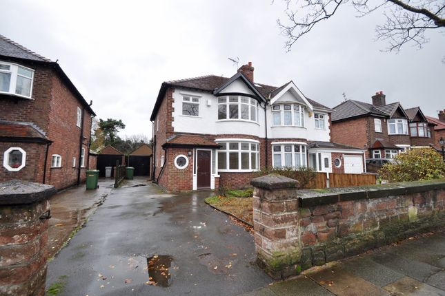 3 bed semi-detached house to rent in Allport Road, Bromborough, Wirral