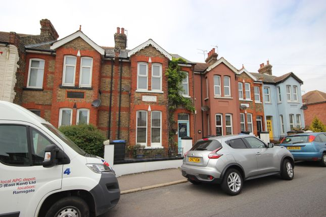 Thumbnail Terraced house to rent in Hereson Road, Ramsgate