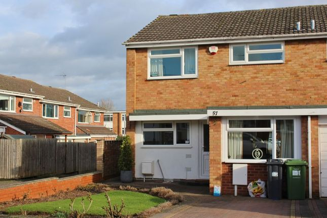 Thumbnail Semi-detached house to rent in Mullard Drive, Whitnash, Leamington Spa