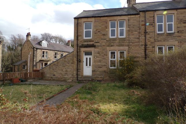 Thumbnail Terraced house for sale in Crescent Avenue, Hexham