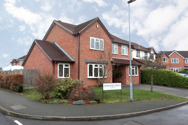 Thumbnail Detached house for sale in Stowford Grove, Trentham, Stoke-On-Trent