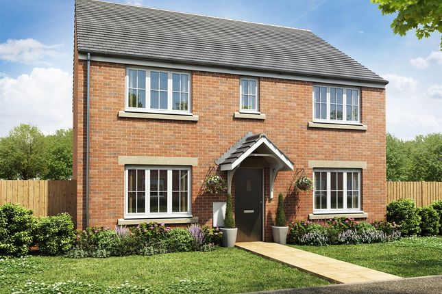 "Thumbnail Detached house for sale in ""The Hadleigh"" at Fellows Close, Weldon, Corby"
