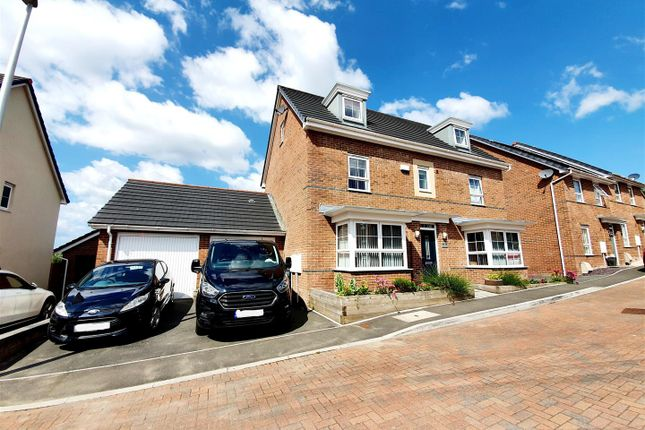 Thumbnail Detached house for sale in Valley View, Loughor, Swansea