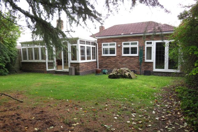 Thumbnail Bungalow to rent in Park View Road, Four Oaks, Sutton Coldfield