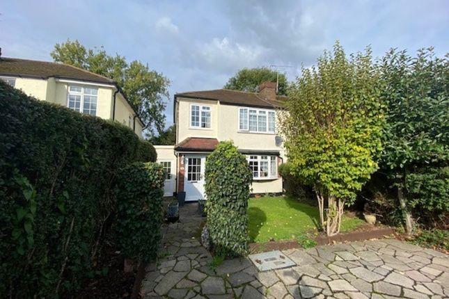 Semi-detached house for sale in Woodhaw, Egham