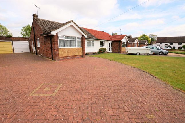 Thumbnail Semi-detached bungalow for sale in Wellhead Road, Totternhoe, Dunstable