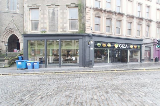 Thumbnail Commercial property for sale in 1A, High Street, Dundee DD11Sx
