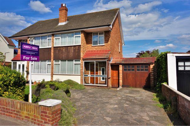 Thumbnail Semi-detached house for sale in Gubbins Lane, Romford