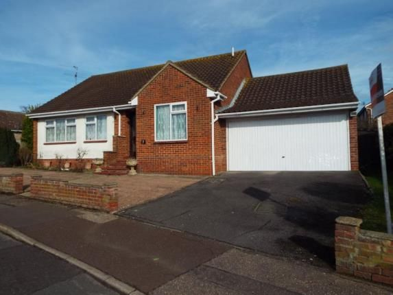 Thumbnail Bungalow for sale in Cranford Close, Frinton-On-Sea