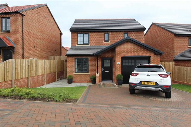 Thumbnail Detached house for sale in Archerfield Drive, The Fairways, Cramlington