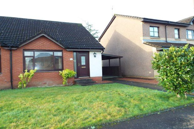 Thumbnail Semi-detached bungalow to rent in Abbot Road, Stirling