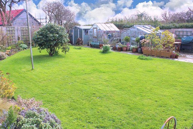 Rear Garden of Overton Lane, Overton, Port Eynon, Gower, Swansea SA3