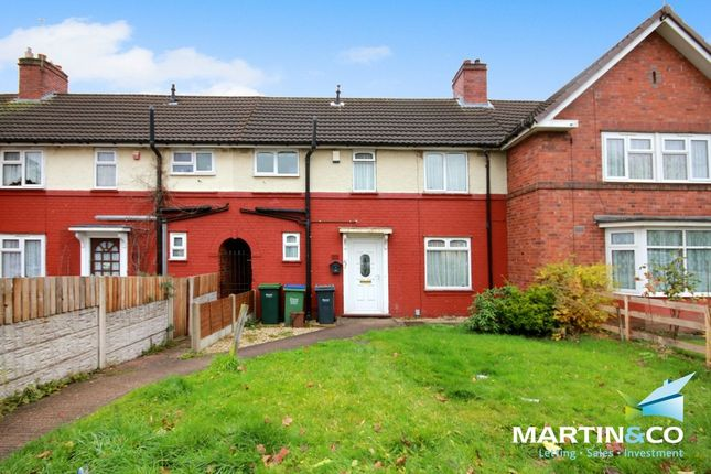 Thumbnail Terraced house for sale in Old Chapel Road, Smethwick