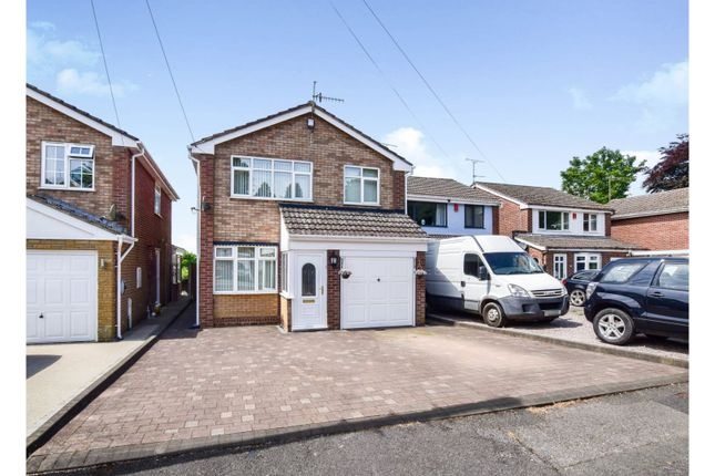 Thumbnail Detached house for sale in Chase Walk, Lightwood, Stoke-On-Trent
