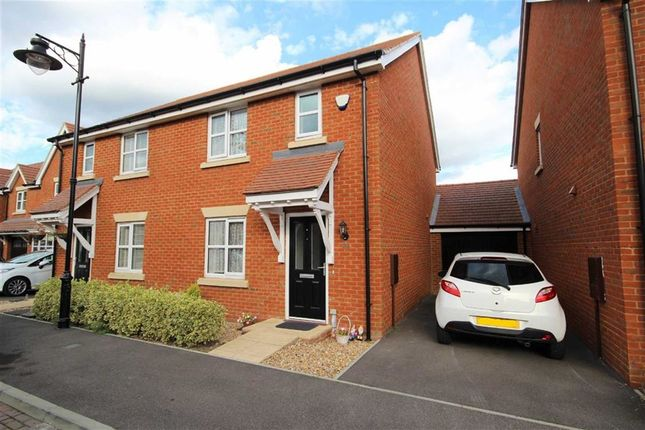 Thumbnail Semi-detached house for sale in Robin Road, Worthing, West Sussex