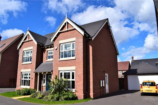 Thumbnail Detached house for sale in Summerhill Drive, St Nicholas Park, Nuneaton, Warwickshire