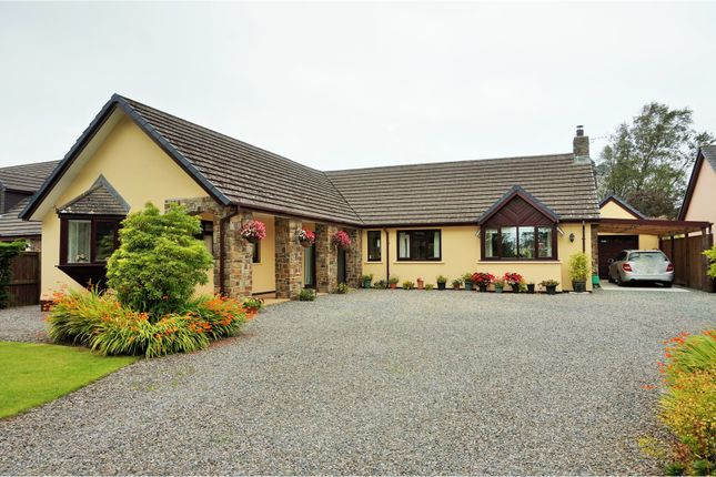 Thumbnail Detached bungalow for sale in Llanteg, Narberth