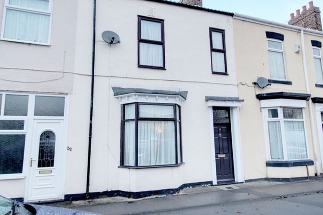 Thumbnail Terraced house for sale in Fountain Street, Guisborough, Cleveland