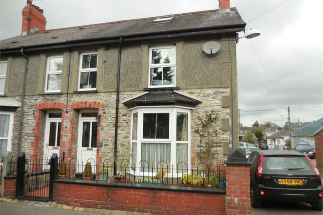 Thumbnail Semi-detached house for sale in Caron Villa, Dewi Road, Tregaron, Ceredigion