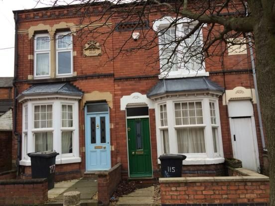 Thumbnail Terraced house to rent in St. Leonards Road, Leicester