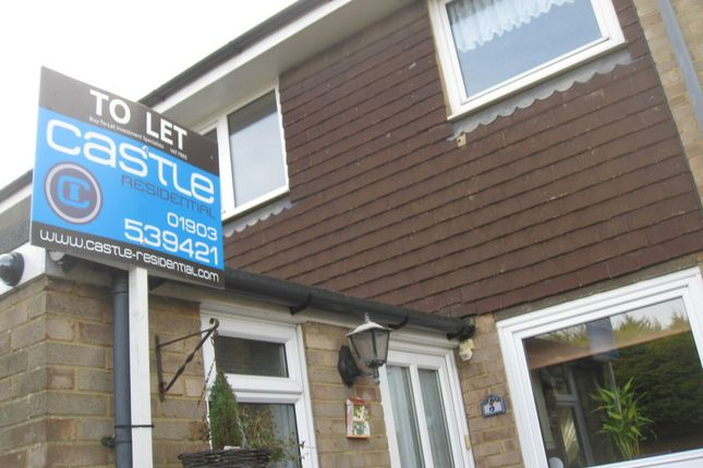 Thumbnail Semi-detached house to rent in Burrell Avenue, Lancing