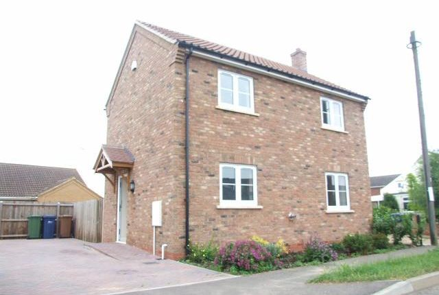 Thumbnail Detached house to rent in Lily Holt Road, Benwick, Nr Peterborough
