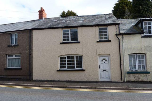 Thumbnail Terraced house to rent in Sennybridge, Brecon