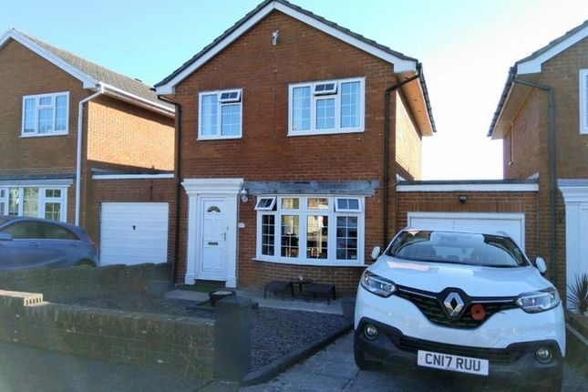 Thumbnail Link-detached house for sale in Croesonen Parc, Abergavenny