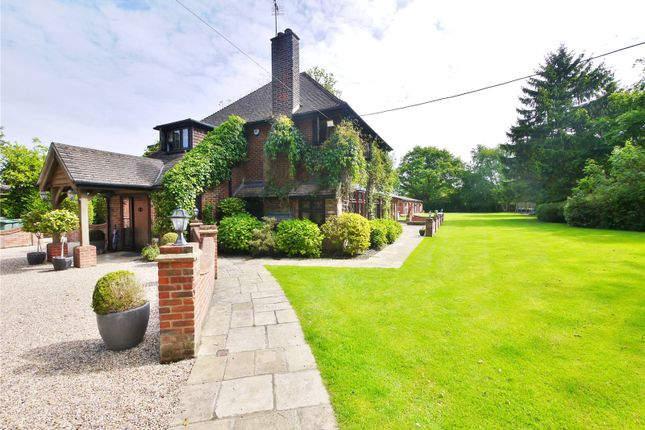 Thumbnail Detached house for sale in Ongar Road, Kelvedon Hatch, Brentwood, Essex