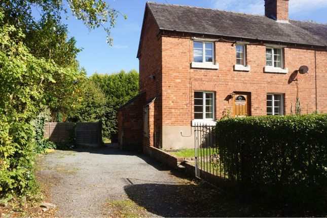 Thumbnail End terrace house for sale in Spring Terrace, The Rock Telford