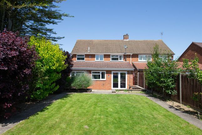 Thumbnail Semi-detached house for sale in Fairfield Road, Dunstable