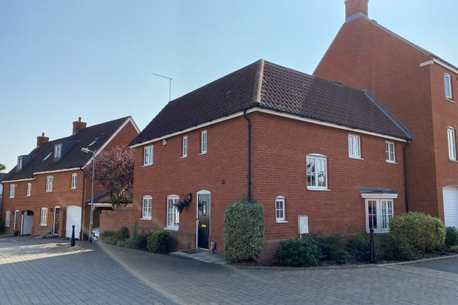 Thumbnail 4 bed semi-detached house for sale in Eastwood Park, Great Baddow, Chelmsford
