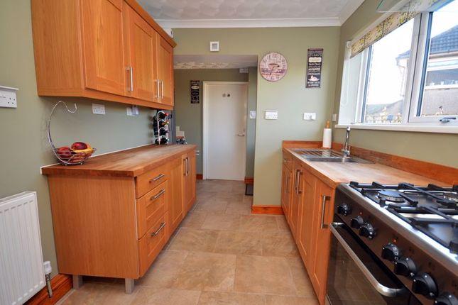 Kitchen of Elgar Crescent, Llanrumney, Cardiff CF3