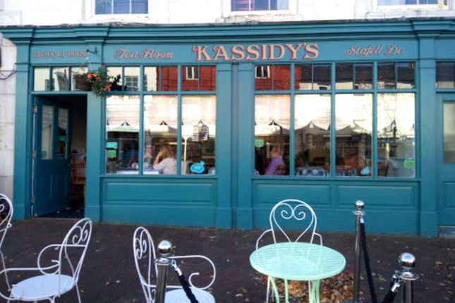 Thumbnail Restaurant/cafe for sale in Bank Place, High Street, Holywell