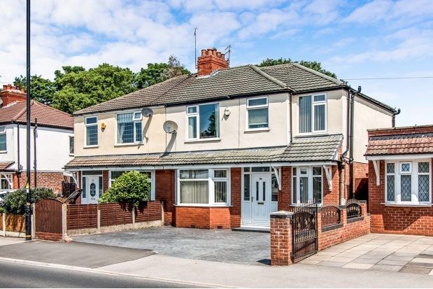 Thumbnail Semi-detached house to rent in Park Road, Timperley, Altrincham