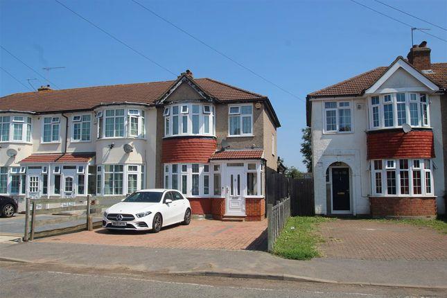 Thumbnail End terrace house for sale in Myrtle Avenue, Feltham
