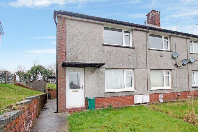 Thumbnail Maisonette for sale in Maes Gwyn, Cwmdare, Aberdare, Rhondda Cynon Taff