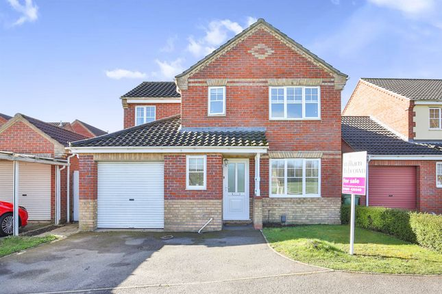 Thumbnail Detached house for sale in Wilks Farm Drive, Sprowston, Norwich
