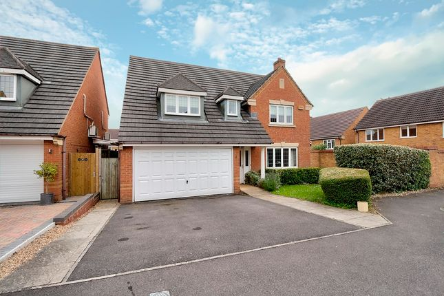 Thumbnail Detached house for sale in St. Birstan Gardens, Andover