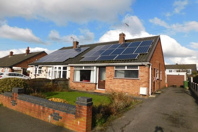 Thumbnail Bungalow for sale in Wordsworth Drive, Crewe