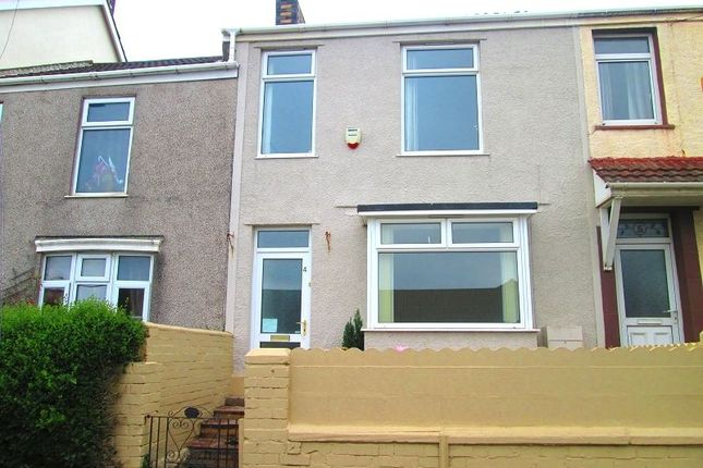 Thumbnail Terraced house to rent in Ysgol Street, Port Tennant, Swansea, City And County Of Swansea.