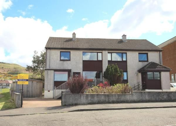 Thumbnail Semi-detached house for sale in Auchenmaid Drive, Largs, North Ayrshire